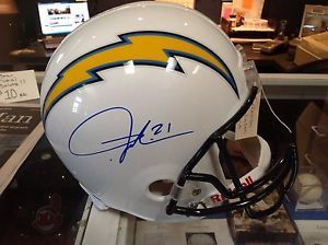 LaDainian Tomlinson Signed San Diego Chargers Helmet