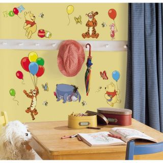 39 Disney Winnie The Pooh Wall Decals Removable Stickers Room Nursery Decor
