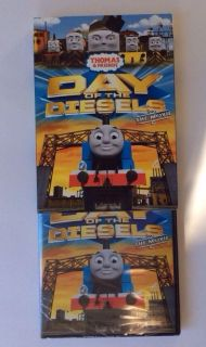 Thomas The Tank Engine Day of The Diesel Train Childrens Friends Movie New DVD 884487110564