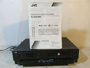 Nice JVC XL R5010BK CD CDR Multiple Compact Disc Recorder Player 3 CD Changer
