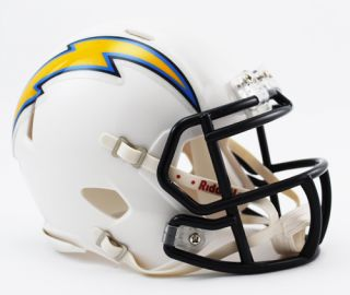 San Diego Chargers NFL Revolution Speed Mini Football Helmet