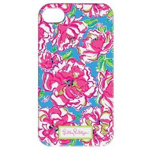 Lilly Pulitzer Lucky Charms iPhone Case Cover 4 4S Mobile Cell Phone NIP