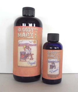 Bloody Mary Mike 16oz Makes Half Gal 4oz Rimmer Seasoning