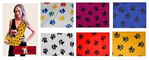New Little Rubi Sling Tote Pet Dog Cat Carrier Polar Fleece Fabric 25 Colors