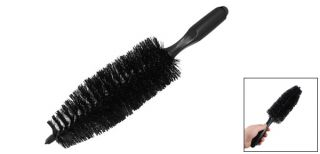 "Wheel Tire Black Tapered Brush Wash Cleaning Tool 14 2"" Long"