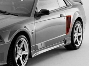 "1999 2004 Ford Mustang Saleen Side Scoops ""Duro Flexi""Original AIT ""100 Genuine"""