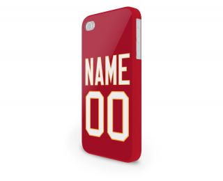 NFL Kansas City Chiefs Personalized Hard Cover Case for iPhone 65 Others