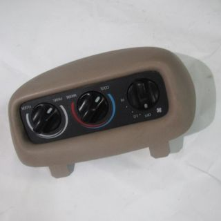 99 00 01 02 Ford Expedition Temperature Control Front Overhead Auxiliary