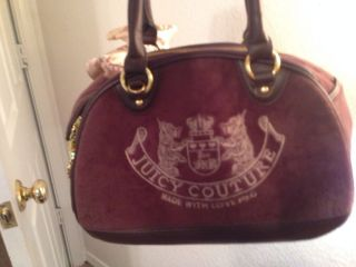Juicy Couture Dog Purse Carrier Tote Small