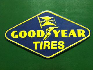 Good Year Tires Official Licensed Product Metal Sign Man Cave Garage Shop