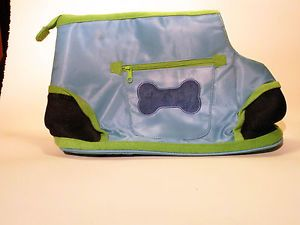 Chelsea Paws Blue Preppy Pet Carrier for Small Dog New