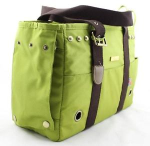 Luxury Comfort Dog Carriers for Small Dog Airline Carrier Green 2012 New Pet Bag