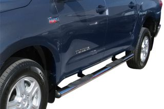 "Steelcraft 433127 Toyota Tundra Nerf Step Bars 4"" Truck Running Boards Crew Cab"