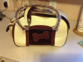 Grandmayard Soft Sided Dog Pet Carrier Purse Small Dog Pet Never Used