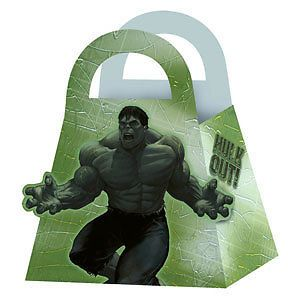The Incredible Hulk 2 4 Party Favor Treat Boxes Birthday Party Supplies
