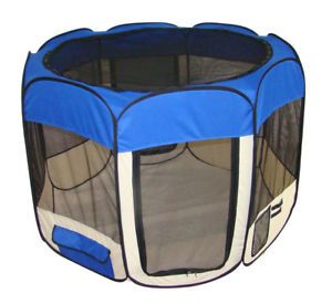 Large Pet Dog Cat Indoor Outdoor Tent Soft Exercise Pen Play Yard