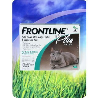 Frontline Plus Flea Tick and Lice Control for Cats and Kittens 000059676263