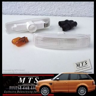 Land Rover Range Rover Sport Supercharged Overfinch Clear Side Markers Lights