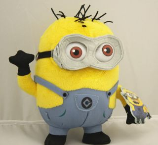 2013 Despicable Me 2 Stewart and Dave Minion Mini Plush Doll Toys
