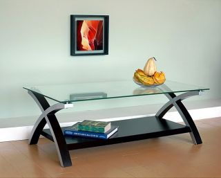New Modern Glass Top Coffee Table Highly Rated