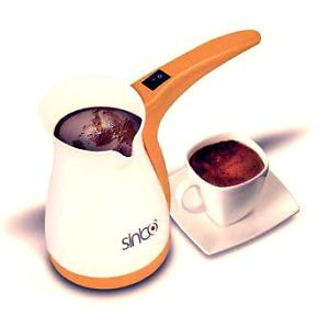 Turkish Coffee Maker Machine Kettle Pot Electric Cezve Ibrik Coffee Gift Sinbo