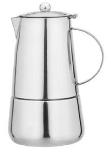 6 Cup Stovetop Stainless Steel Coffee Maker Moka Coffee Maker Espresso Coffee