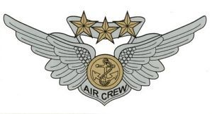 "Marine Combat Aircrew Wings 6"" Decal Sticker"