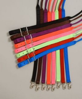 7' Western Contest Roping Barrel Reins Purple Horse Tack
