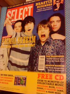 Select Magazine June 1997 Primal Scream Divine Comedy Marilyn Manson Eels VGC