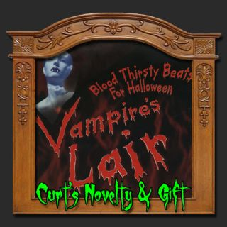 Vampires Lair Halloween CD Haunted House Scary Prop