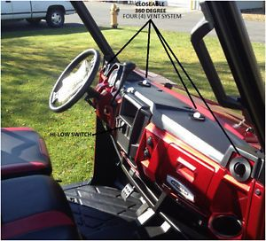 2013 Polaris Ranger 900 XP Complete Cab Heater Kit with Defrost