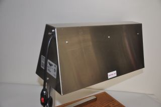 Vollrath OHC 500 Commercial Countertop Heat Lamp 2 Dual Bulb Food Warmer