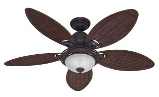"Hunter 54"" Caribbean Breeze Ceiling Fan Remote 21647"