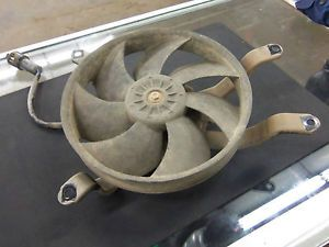 Used Radiator Cooling Fan Assembly 2007 Kawasaki Brute Force 650 59502 001 D4