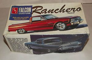 Vintage AMT Ford Falcon Custom Ranchero Model Kit Complete not Built Kit T240
