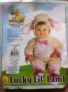 Baby 12 18 Month Little Lamb Costume Halloween Dreas Up Girls Sheep Costume