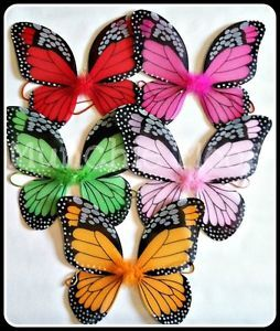 New Monarch Butterfly Wings Dance Birthday Party Costume Dress Up High Quality