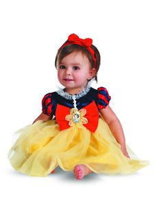 Disney Snow White and The 7 Seven Dwarfs Baby Girls Costume Set 12 18 Months