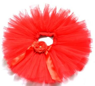 Handmade Party Costume Ballet Kids Dancing Girl Toddler Child Baby Tutu Skirt