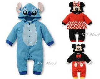 New Baby Boys Girls Animal Costume Romper One Piece Outfit Clothes Size 6M 18M