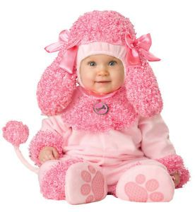 Precious Poodle Infant Toddler Baby Costume Dog Animal Safari Halloween Party