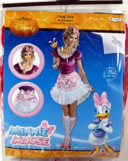 Adult Ladies Daisy Duck Costume Sassy New Medium 8 10 Disney Womens 11404B