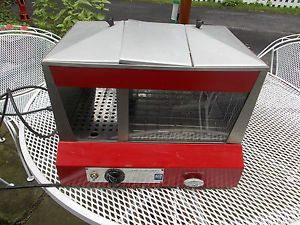 Hot Dog Cooker Steamer Star Brand Commercial 35S Model Temperature Bun Storage