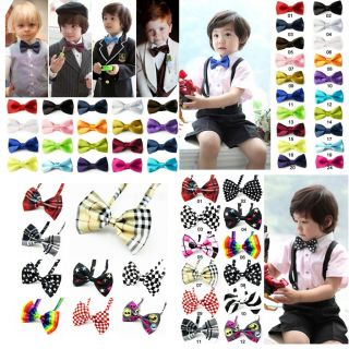 Kids Boys Baby Children Toddler Wedding Party Bowtie Bow Tie Korean Many Style