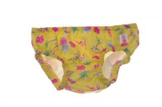 Baby Girls Toddler Pink Yellow Green Swim Diaper Cover 3T 4T 6 12 Months New