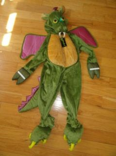 Spooked Halloween Costume Baby Toddler Boys Girls Boy Girl Dragon Plush 2 2T