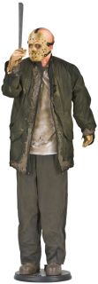 Friday The 13th Jason Voorhees Lifesize Animated Figure Yard Prop Halloween