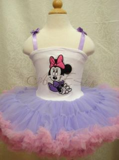 Minnie Mouse Xmas Hallowen Girls Kids 2 10Y Party Dance Tutu Dress Pettiskirt