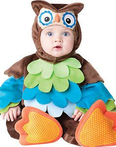 Woo Hoo Owl Baby Boys Girls Toddler Animal Bird Costume M 12 18 Months