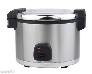 Electric Rice Cooker Steamer Warmer Large 5 Five Litre Commercial Restaurant